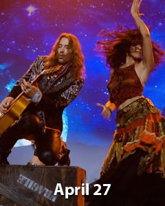 """International guitar sensation, Benise and his Emmy Award Winning cast, return with a new Fiery World Music and Dance Spectacular. En Fuego! Hailed by the LA Times as """"The Latin Riverdance,""""  http://www.inlandempire.us/events/benise-en-fuego-at-the-fox-performing-arts-center-riverside-ca/"""