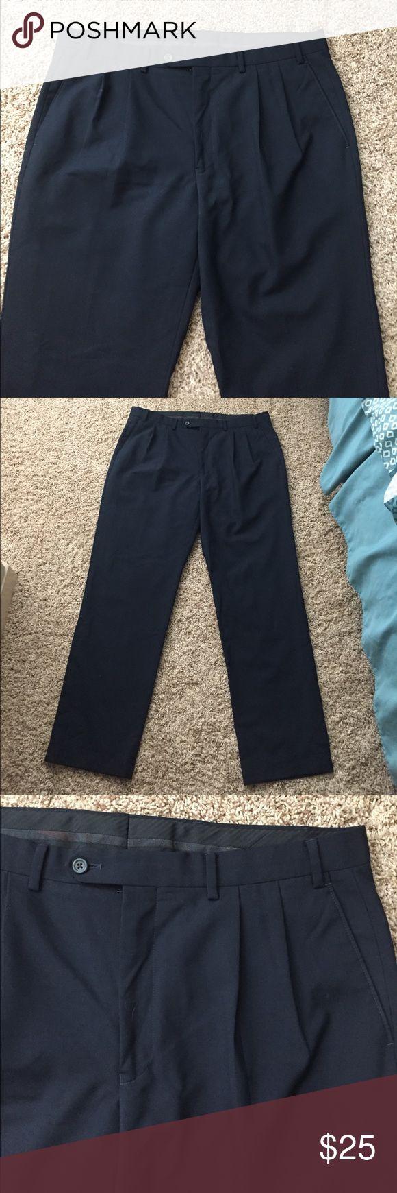 Ralph Lauren Navy Dress Pants Lauren Ralph Lauren Deep Navy Men's Dress Pants. 52% Wool, 48% Polyester. 36W/32L. Lauren Ralph Lauren Pants Dress