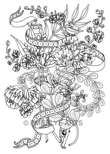 17 best images about m larbilder blommor v xter tr d on Coloring book for adults naughty coloring edition