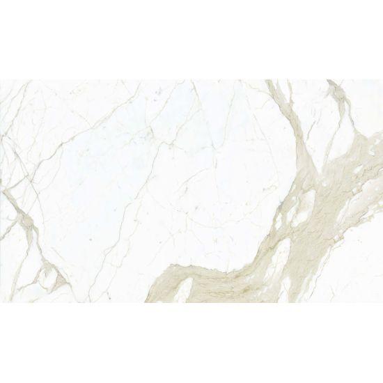 Magnifica Calacatta Super White Porcelain in 1/4