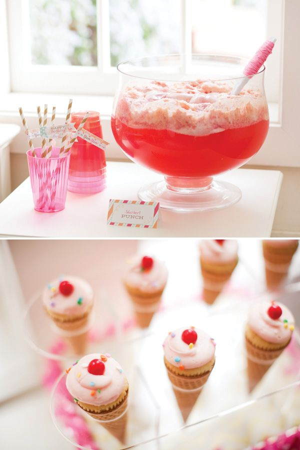 Ice Cream Shoppe Birthday Party Theme for Pottery Barn Kids {+ Free Printables!}