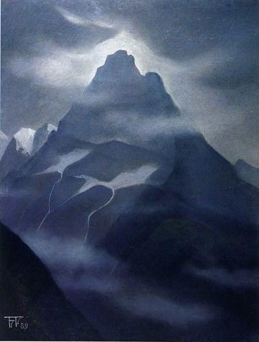 Gallery.ru / Вершина.Кавказ 1989 - Борис Смирнов-Русецкий