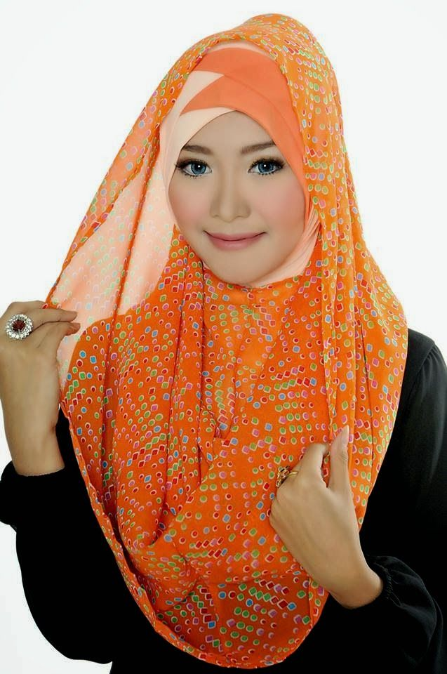 D'style Hijab menghadirkan Hijab fashion style motif Floral. Hijab Instant modern yang cantik ^_^ CHIFFON PRINTED PEAFOWL Type : Flip Back, Inner Exclude Material : Chiffon Price : IDR 65.000 Code : CPP-ORANGE Order : Pin BB 2A26B0A1 SMS 0823 1872 8888  KOLEKSI LENGKAP:  - http://pusatjilbabinstant.blogspot.com/ - https://www.facebook.com/pages/Pusat-Busana-Muslim-Modern-from-Dstyle-Group/519033388138429  Happy Shopping Thank You ^_^