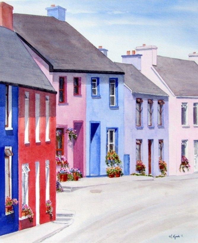Eyeries village.