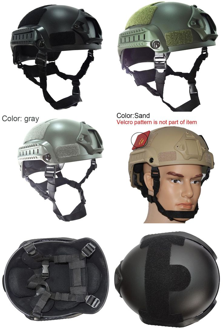 [Visit to Buy] Military Mich 2001 Airsoft Helmet Tactical Accessories Army Combat Head Protector Wargame Paintball Helmet #Advertisement