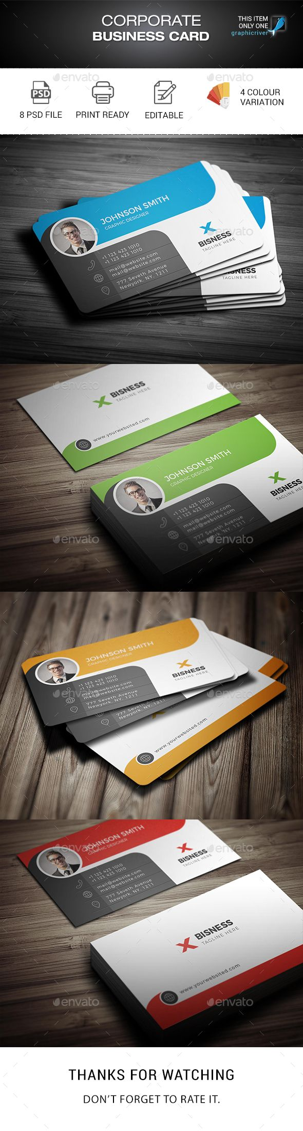 Business Card Template - Corporate Business Cardshttps://www.fiverr.com/rony5281/do-latest-visiting-card-with-eye-catching-design-for-you