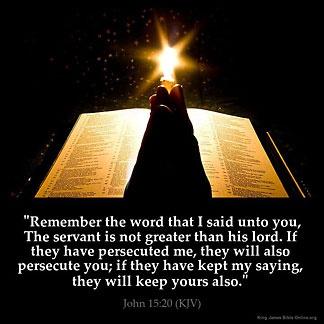 inspirational image for john 15 20 inspirational bible