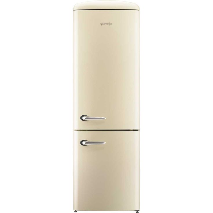 Gorenje Retro Collection NRKO6193C 70/30 Frost Free Fridge Freezer   Cream