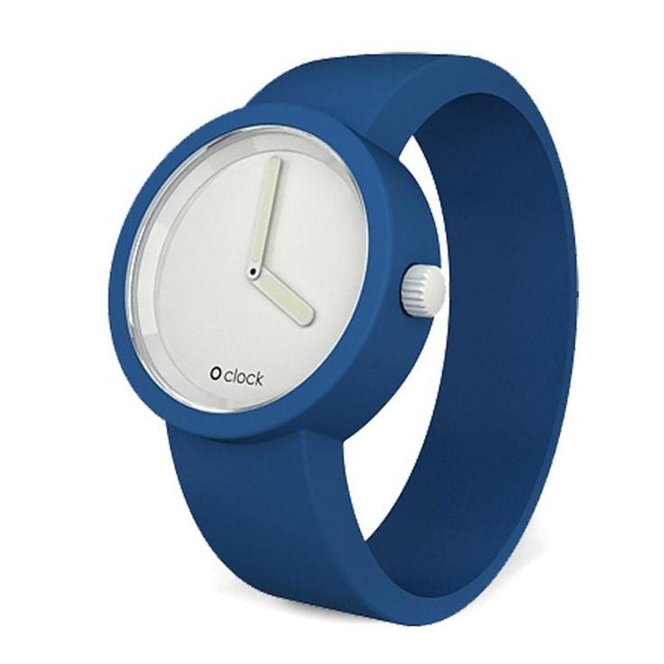 Montres O'Clock - Horloge O Classic Face Watch O'Clock - Bleu Capri