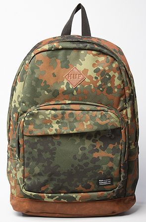 The Fall Backpack in Camo by HUF