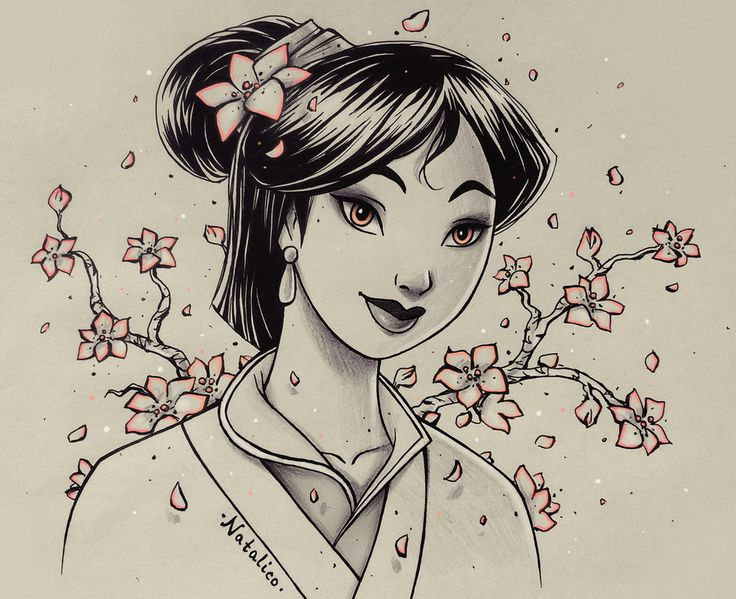 I've decided to draw one sketch of Disney or movie/TV character every day from Monday to Sunday (I accept your suggestions ^^). I already had Snow White week, and most of you suggested to draw Bell...