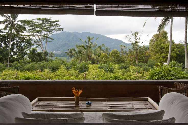 Villa Idanna by Alila Manggis - Bali with the majestic view of Gunung Agung