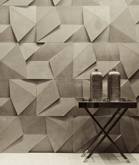 origami wallpaper by brazilian design company castelatto - Walls Design