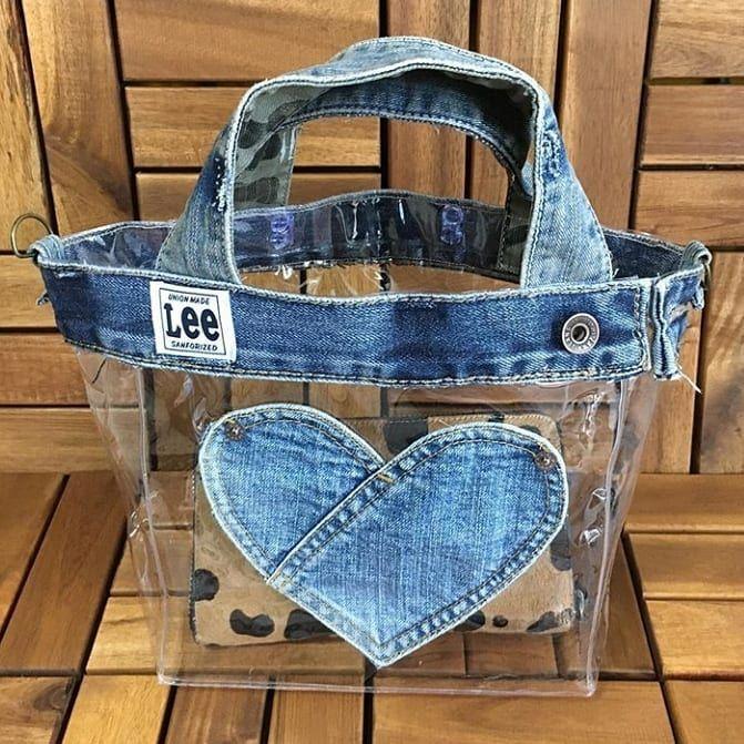 Porque com qualquer sobrinha de jeans, a gente pode fazer uma customização… …