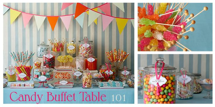 Candy Party candy table