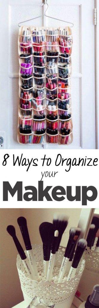 8 Ways To Organize Your Makeup Organization Junkie