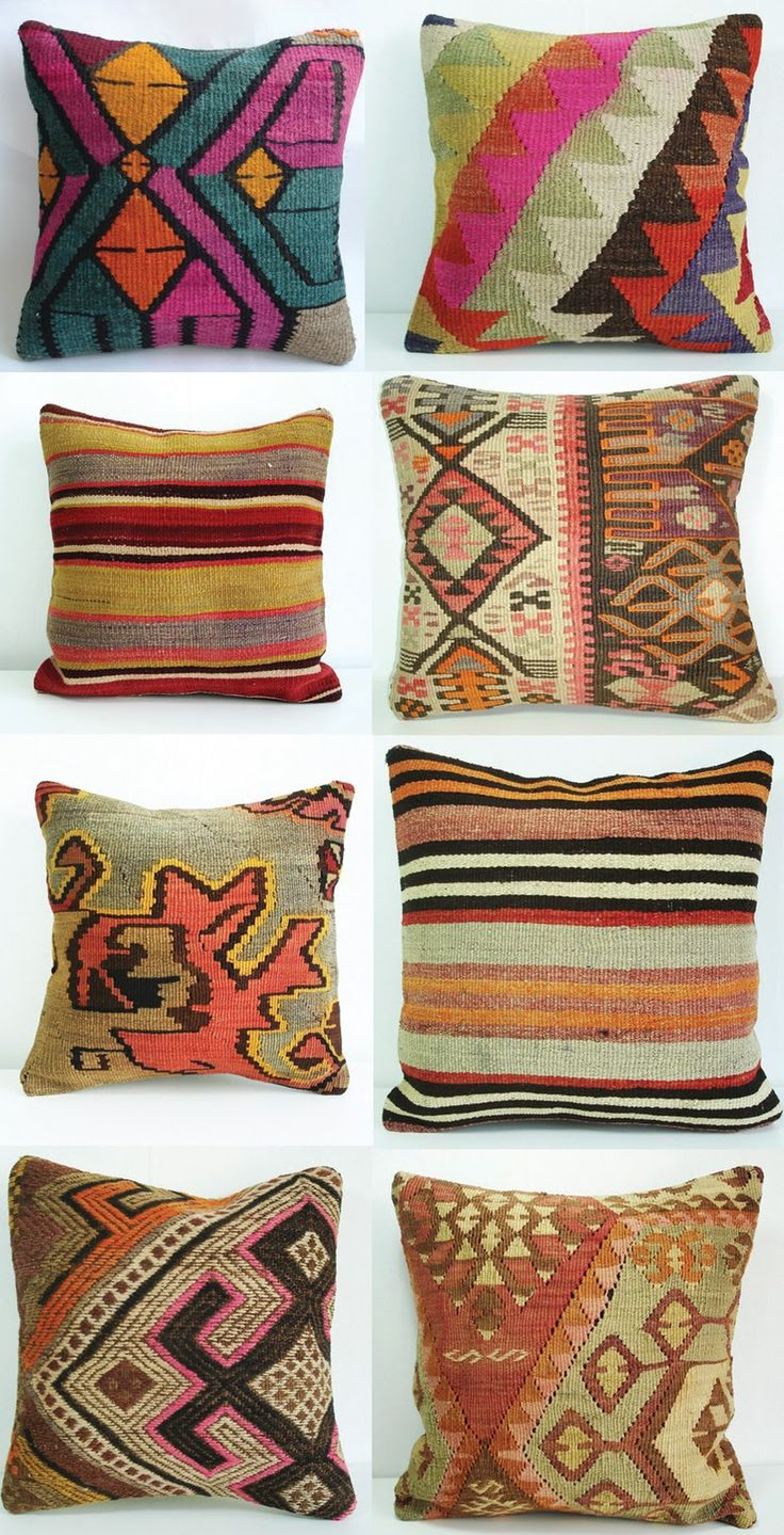 Definitely want to buy a kelim pillow in Turkey!
