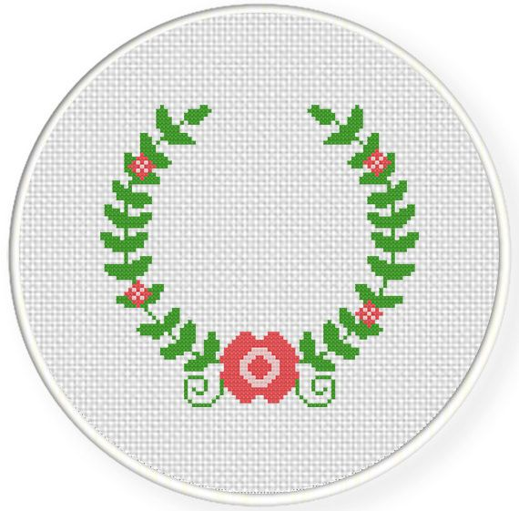 FREE for Oct 10th 2016 Only - Laurel Cross Stitch Pattern