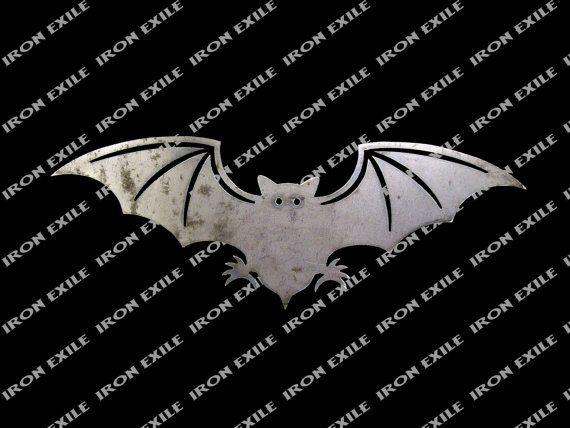 Coupe de métaux au Plasma Bat 3 pochoir Halloween par IronExile