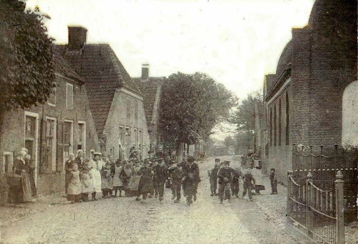 Nog verder terug in de tijd synagoge aan het Oosteinde 1903