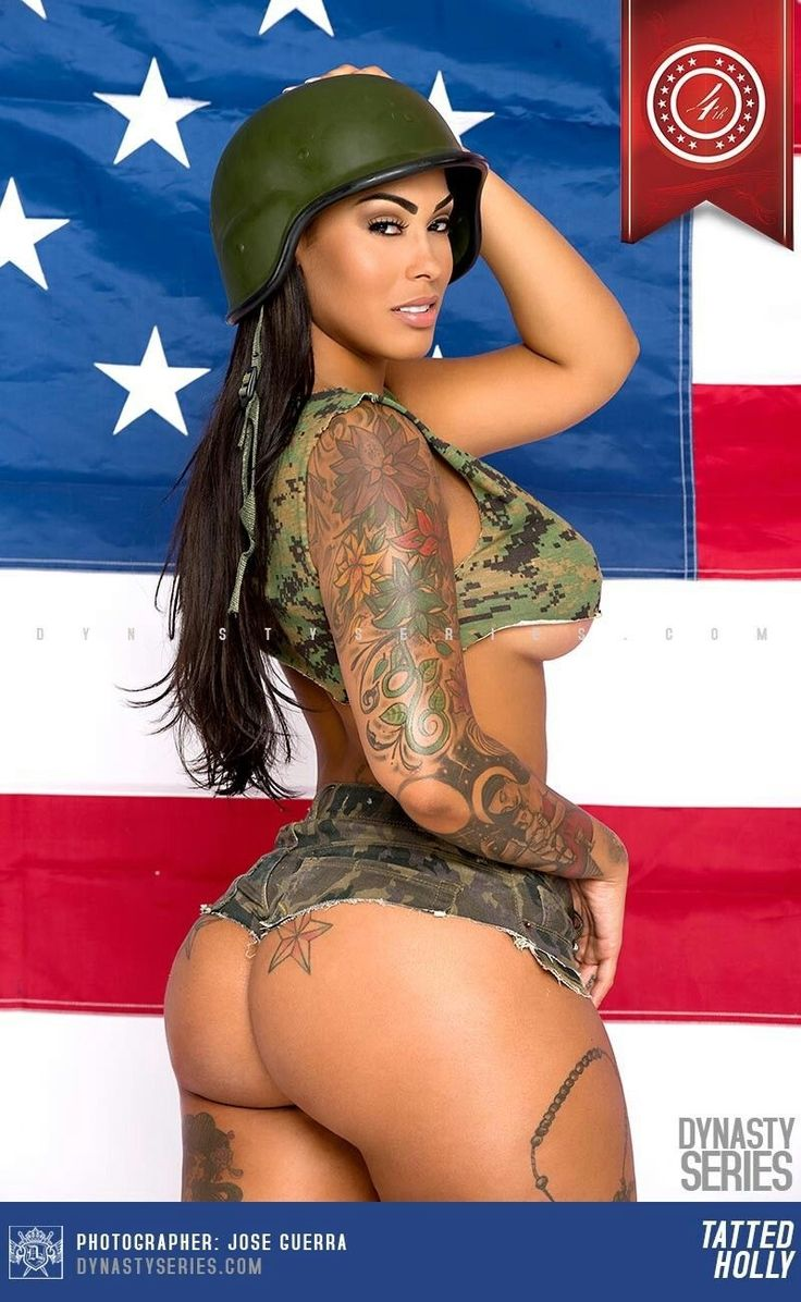 American Camouflage Babe