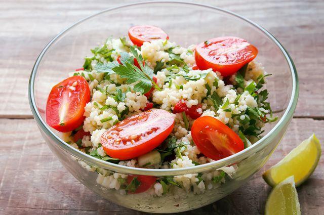 Салат табуле с помидорами
