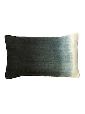 Christy Sumatra boudoir cushion charcoal - House of Fraser