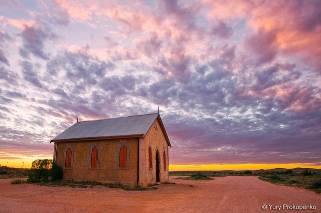 Outback Church, Australia