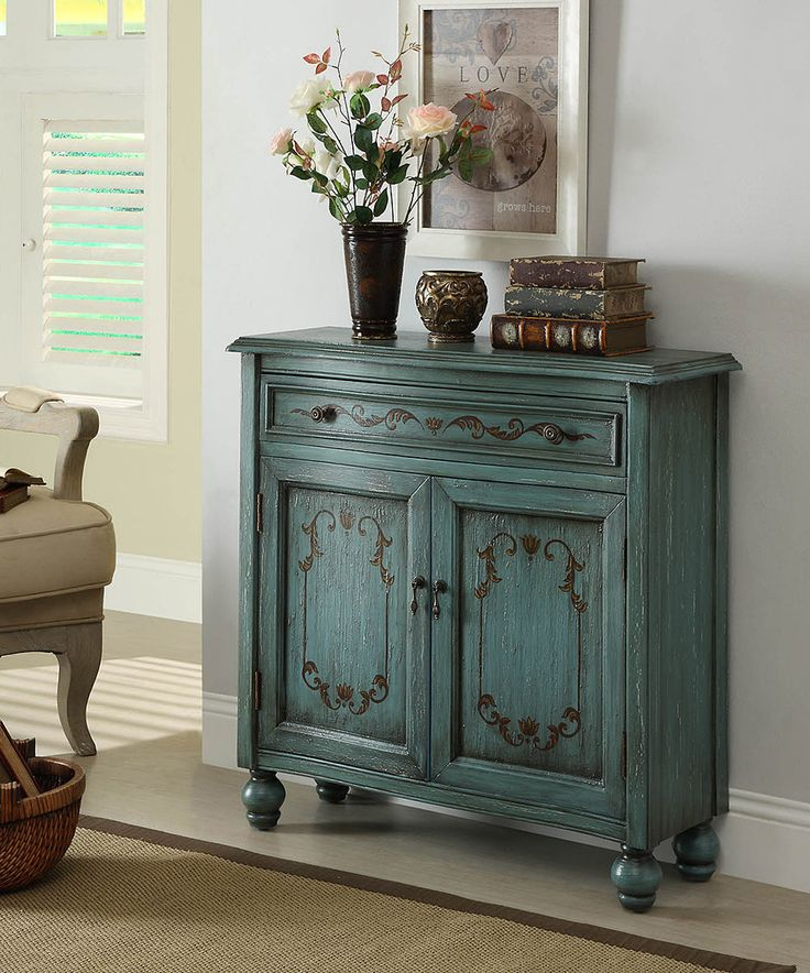 Look what I found on #zulily! Teal Accent Chest by Coast to Coast #zulilyfinds