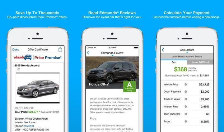 Best Car Buying Apps For Iphone And Ipad New Used Cars Car