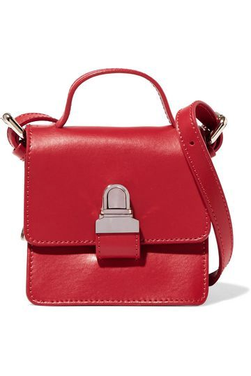 Small leather shoulder bag | MM6 by MAISON MARGIELA | Sale up to 70% off | THE OUTNET
