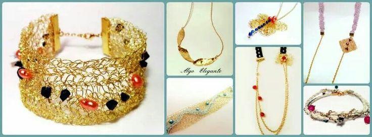 Candies collection by Algo Elegante  #crochet #gold_plated #jewelry #fashion #women #handmade #unique #algoelegante