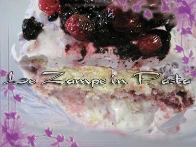 Le Zampe in pasta: Tiramisù ai frutti di bosco