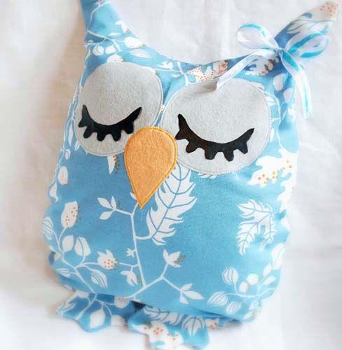 Сова-подушечка, мастер-класс по шитью подушки игрушки совы | Мамин Креатив