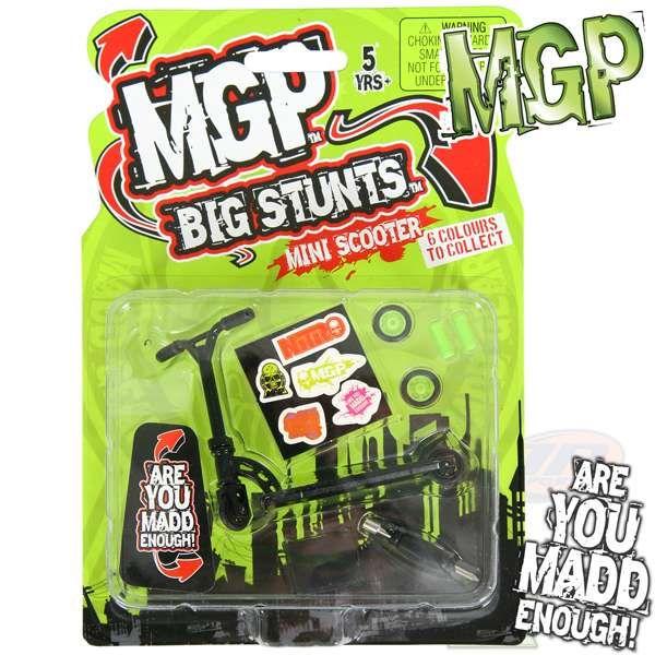 MGP Big Stunts Finger Scooter - Black
