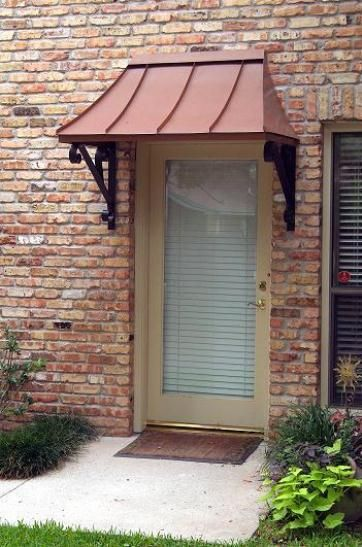 Front door #awning: Windows Covers, Residential Front, House Ideas ...