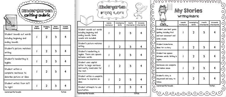 Best 25+ Kindergarten writing rubric ideas on Pinterest