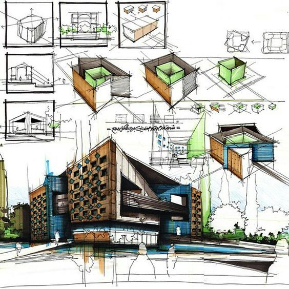 1000 Images About New Home Construction On Pinterest: Bocetos Arquitectura, Croquis