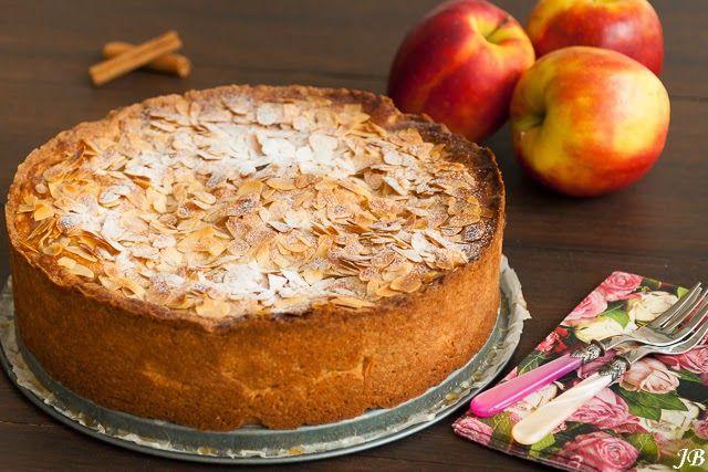 Carolines blog. Appel abrikozentaart met amandelspijs.