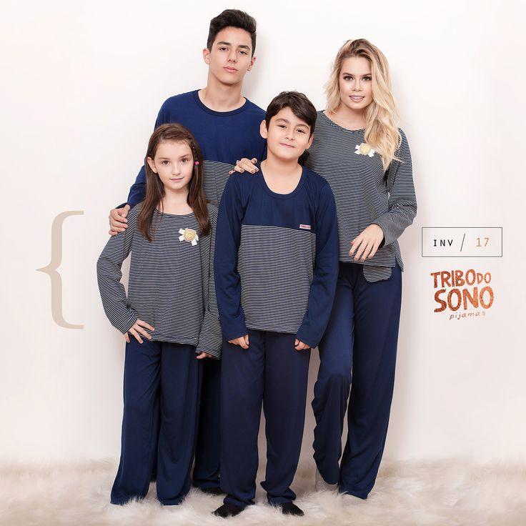 Pijama para família.