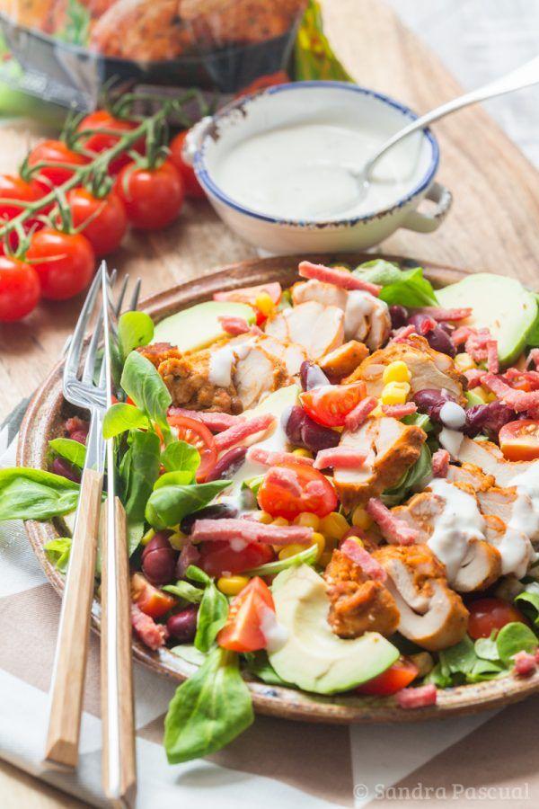 Salade_Mexicaine au poulet