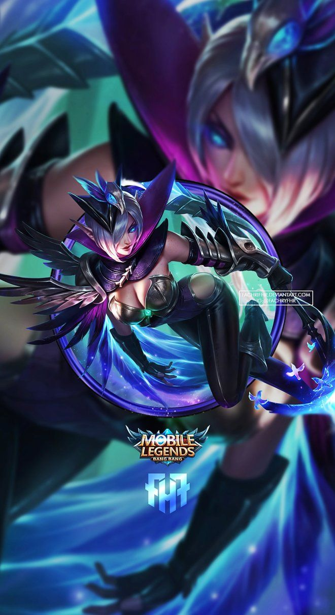 Wallpaper Phone Miya Modena Butterfly By Fachrifhr Mobile Legends