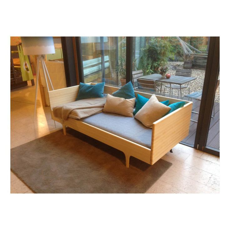 Natural Caravan Single Bed 90x200 cm-product
