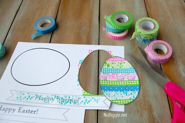 What a fun arts and crafts project for kids on Easter