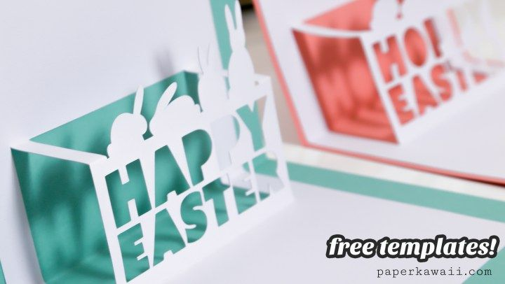 Cricut Explore Air Review & Free Easter Pop-Up Card #easter #cardmaking #diy #coupon