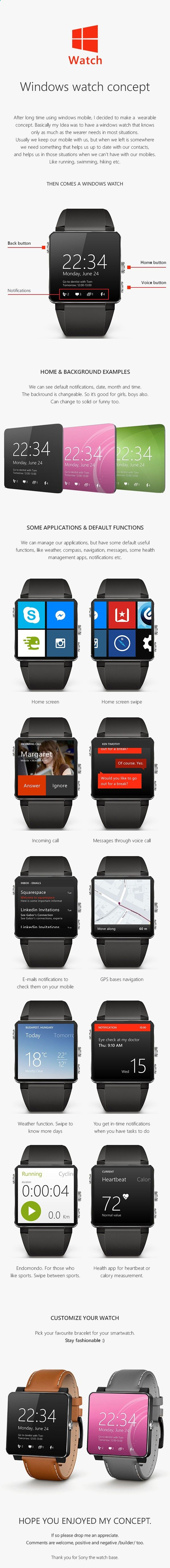 Tips For Choosing Smartwatch Microsoft Smartwatch Concept Designs - If you want to buy a smartwatch and you do not know which one, you need to review well not only the prices, but also which one is right for you. To do this, we give you useful tips to make the best choice.