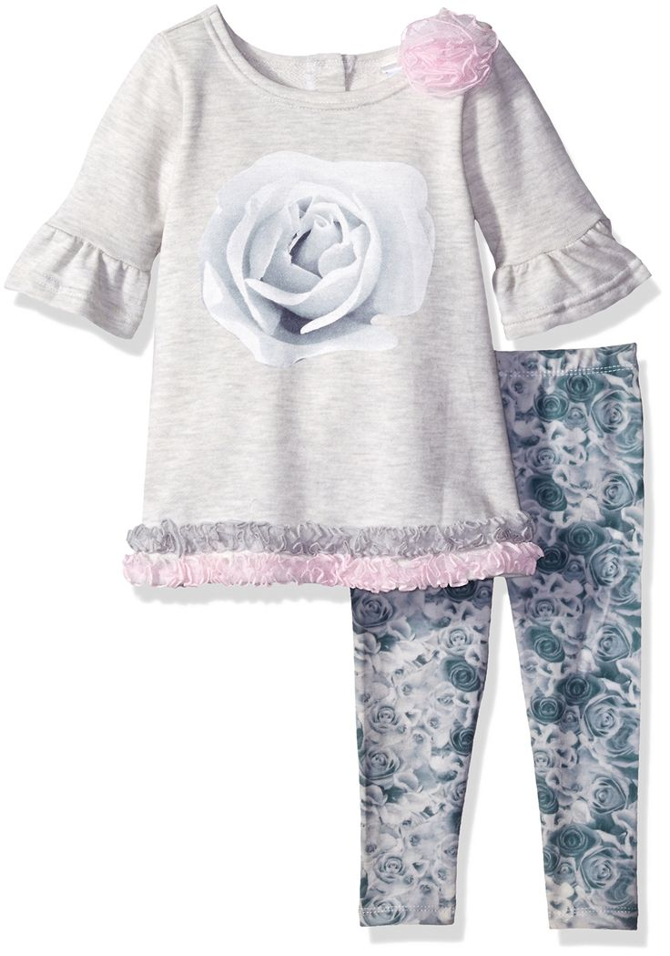 Lavender Little Girls' Toddler 2 Piece Set 3/4 Sleeve A-Line with Ruching Trim, Grey/Pink, 4T. Lavender designs is a new fashion for young girls social occasion events including holidays, recitals, birthdays, graduation , special dinners, church or temple, weddings and parties. Lavender designs for young girls social occasion events including holidays, recitals, birthdays, graduation , special dinners, church or temple, weddings and parties.