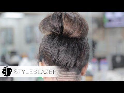 Shaved Neck Undercut Design Tutorial - YouTube