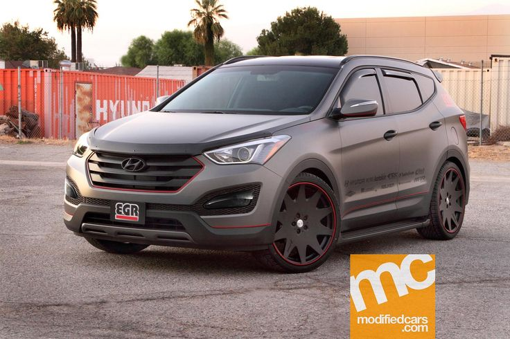 Modified Hyundai Santa Fe Sport by EGR 2012 Picture 1