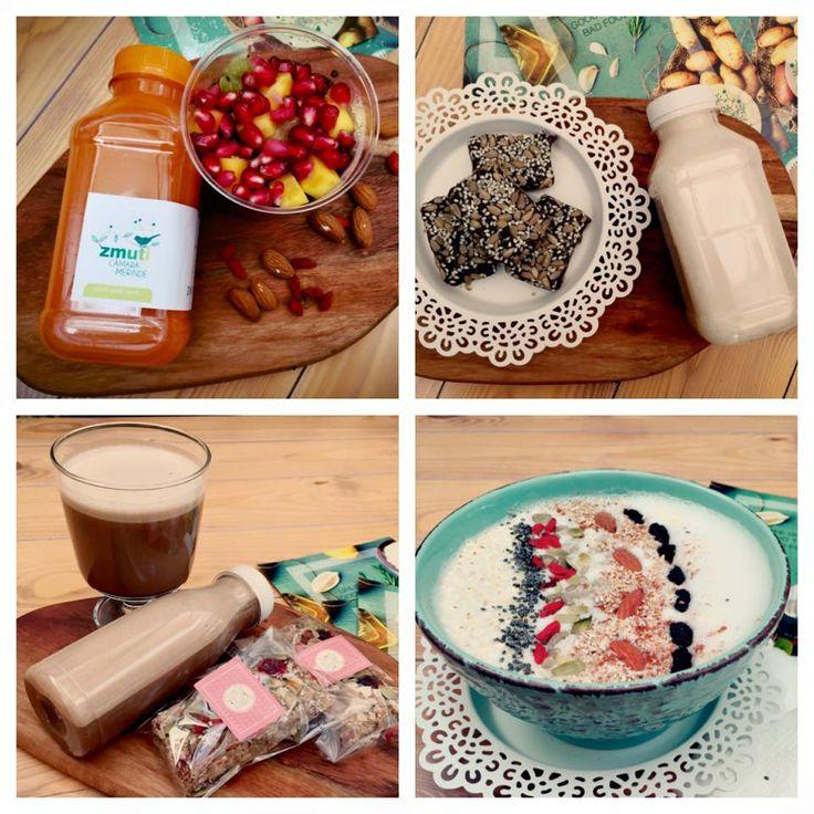 Buna dimineata! Va prezentam 4 variante sanatoase pentru micul dejun, atat pentru adulti cat si pt cei mici